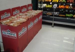 Olymic Fine Foods Display2