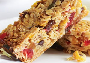 Apricot and Almond Muesli Bars