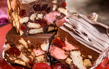 Delicious and easy to make Rocky Road