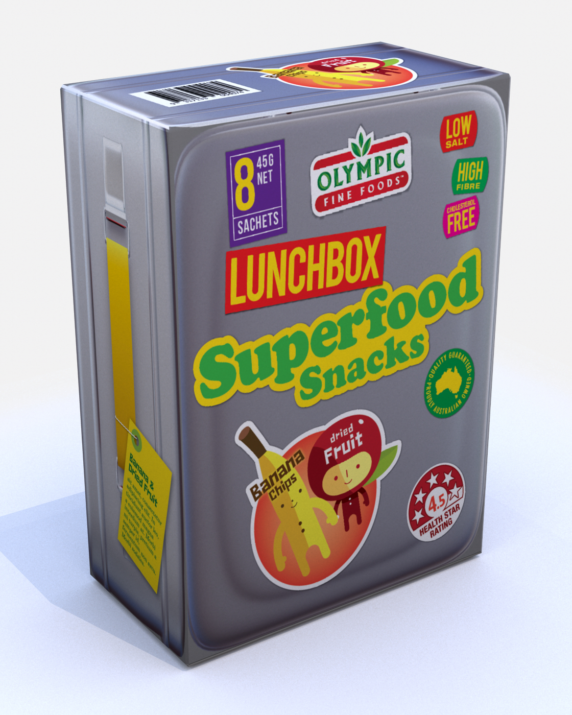 Lunchbox Superfoods – Banana Chips & Fruit Bits