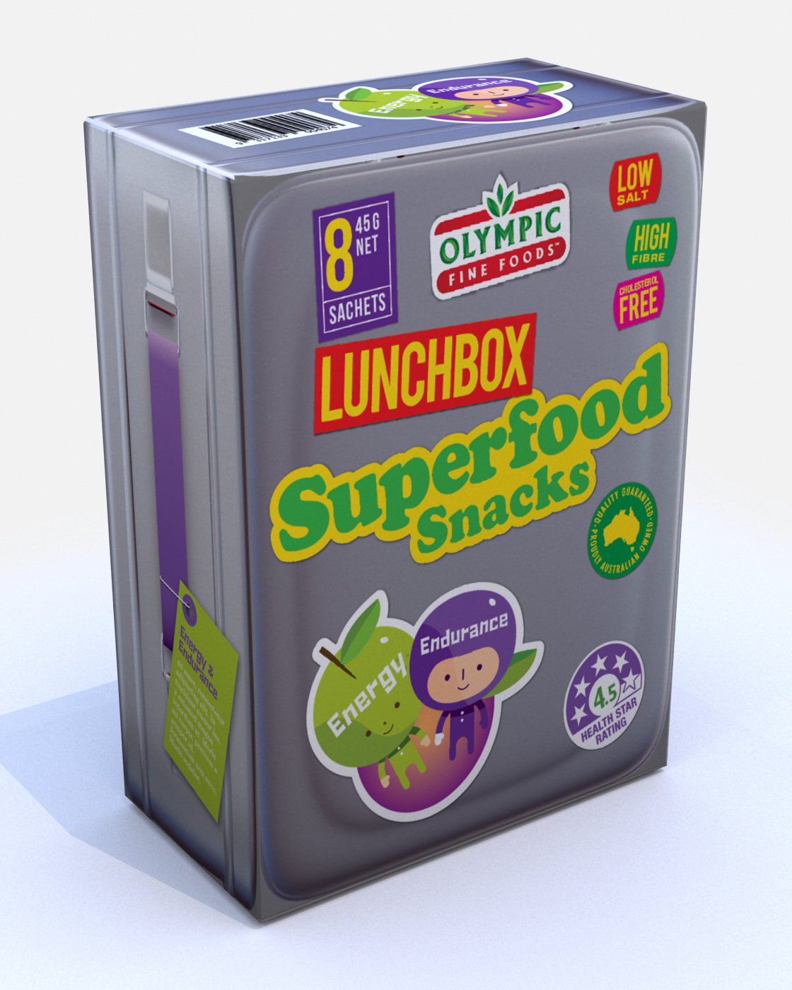 Lunchbox Superfoods – Energy & Endurance