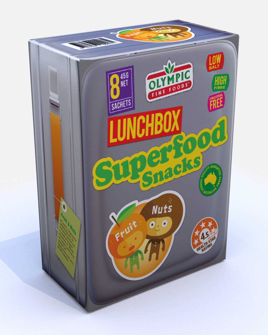 Lunchbox Superfoods – Fruit & Nut