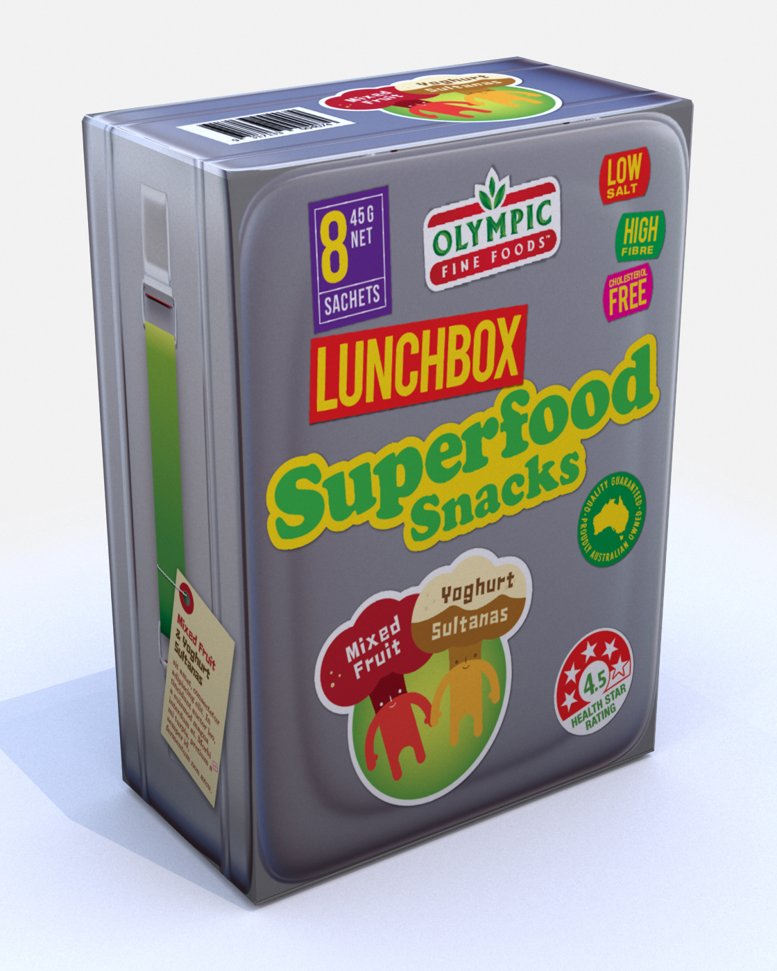 Lunchbox Superfoods – Mixed Fruit & Berries