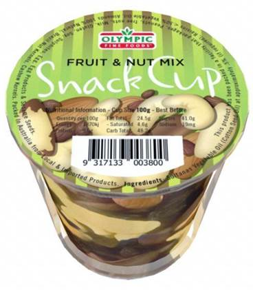 Snack Cup – Fruit & Nut Natural
