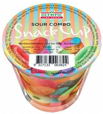 Snack Cups – Sour Combo