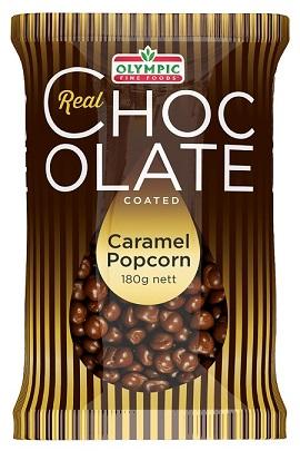 Real Chocolate Caramel Popcorn