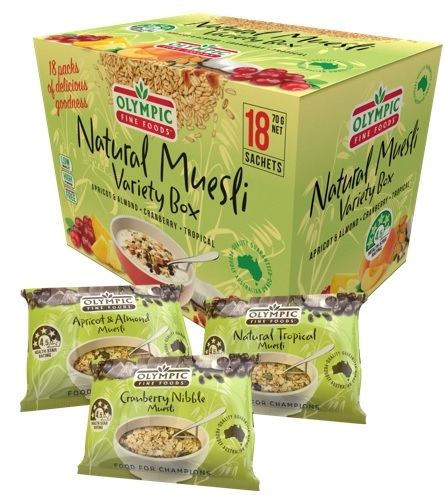 Natural Muesli Variety Box