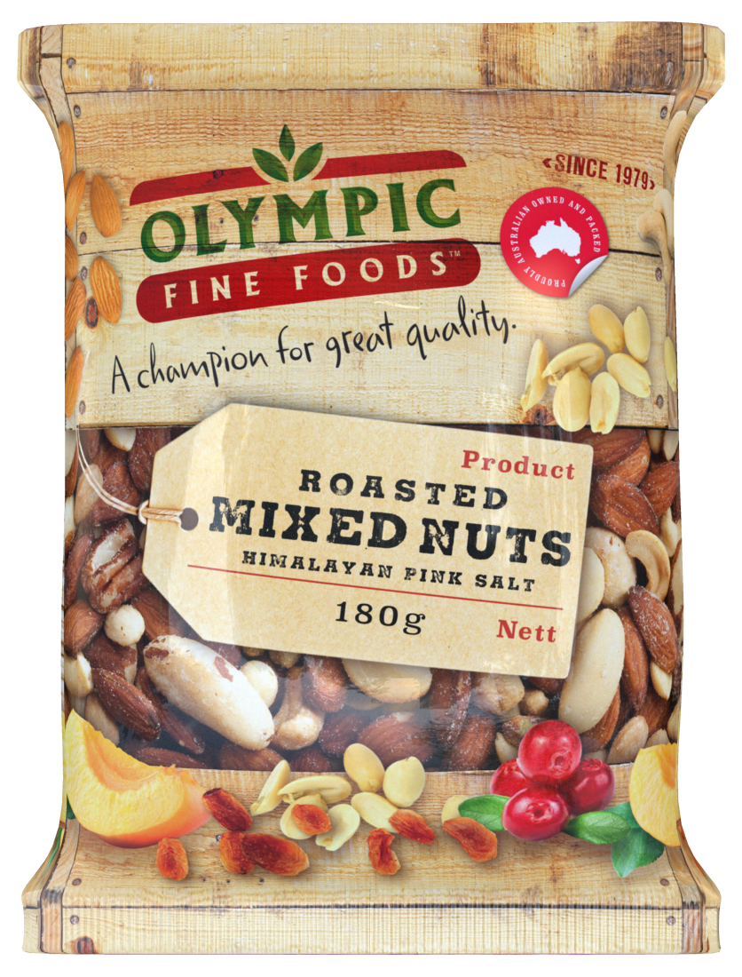Mixed Nuts Roasted with Himalayan pink salt