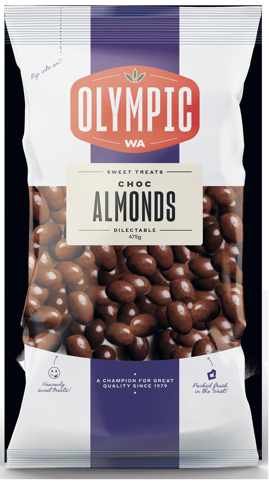 Choc Almonds