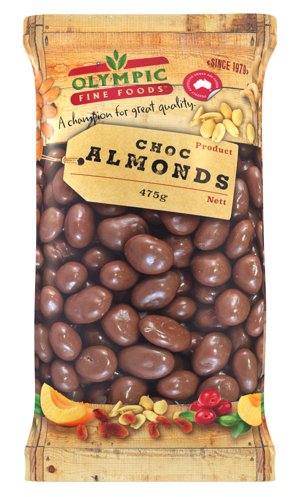 Choc Almonds