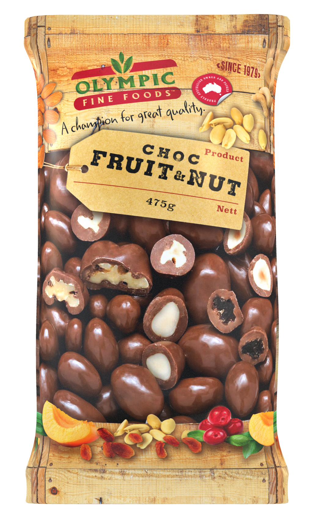 Choc Fruit & Nut