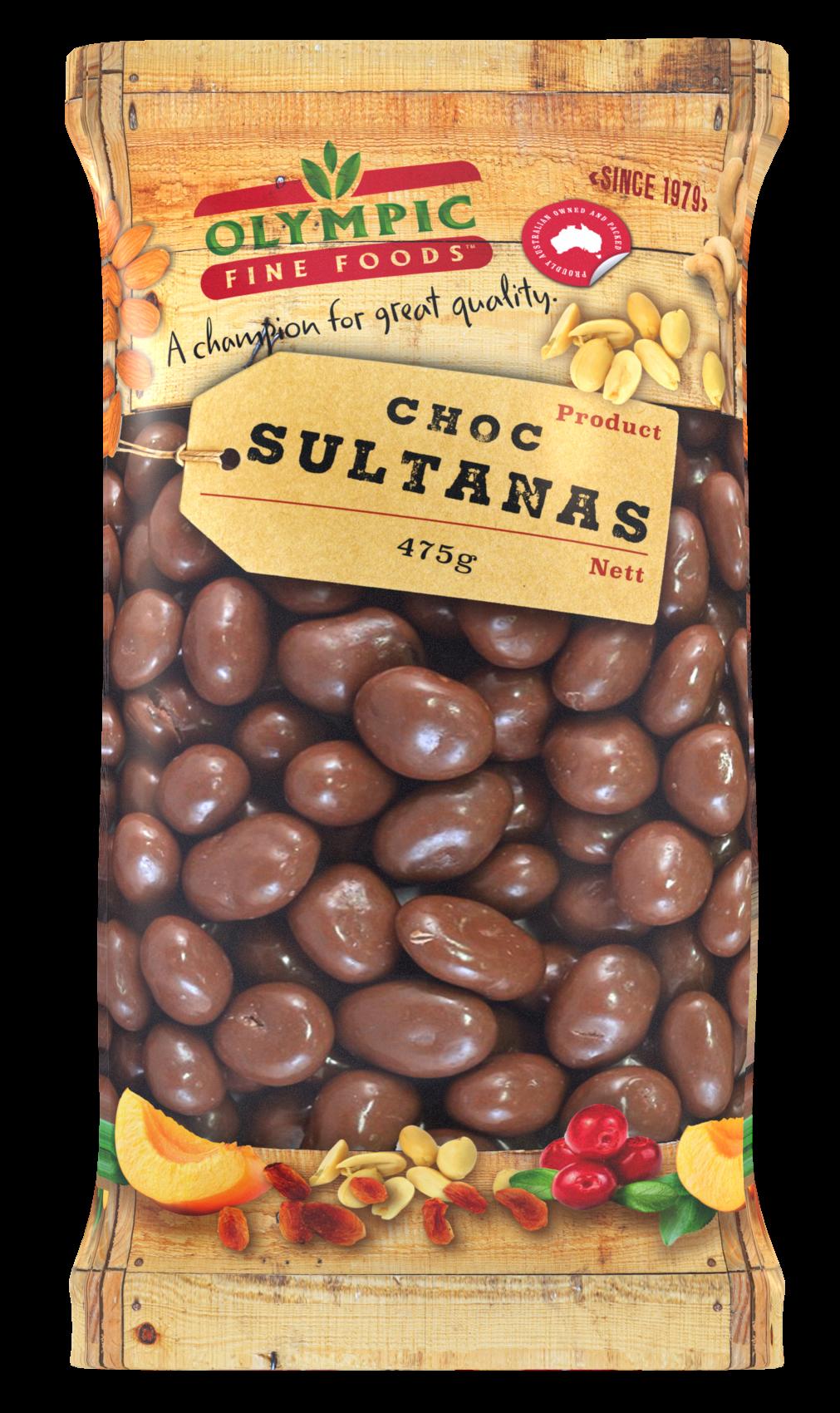 Choc Sultanas