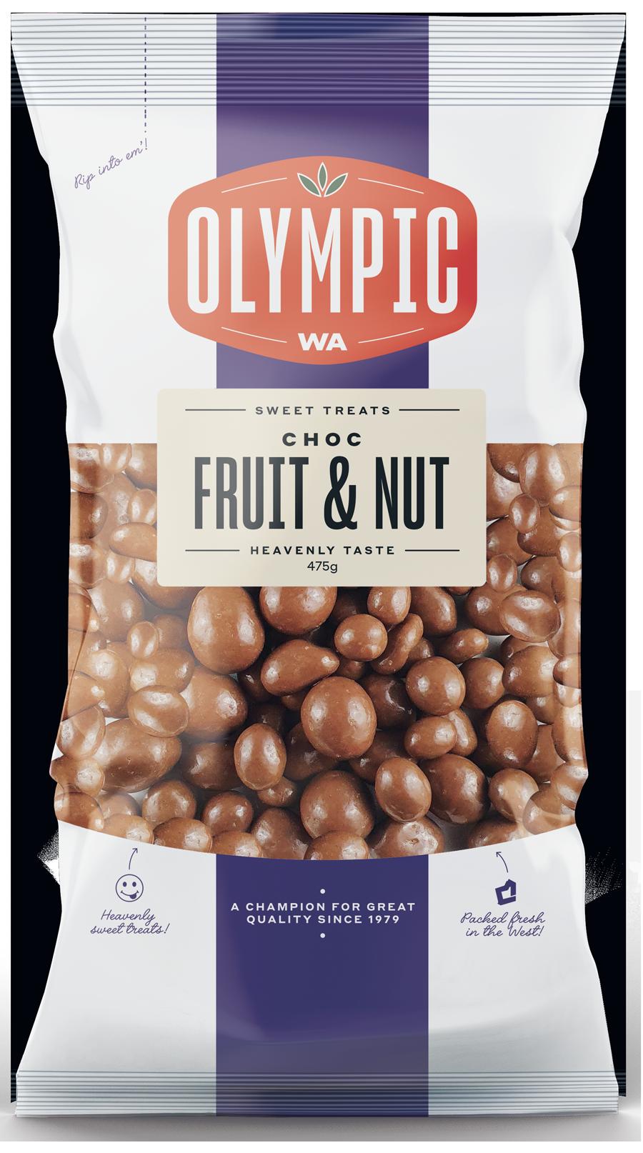 Choc Fruit & Nut