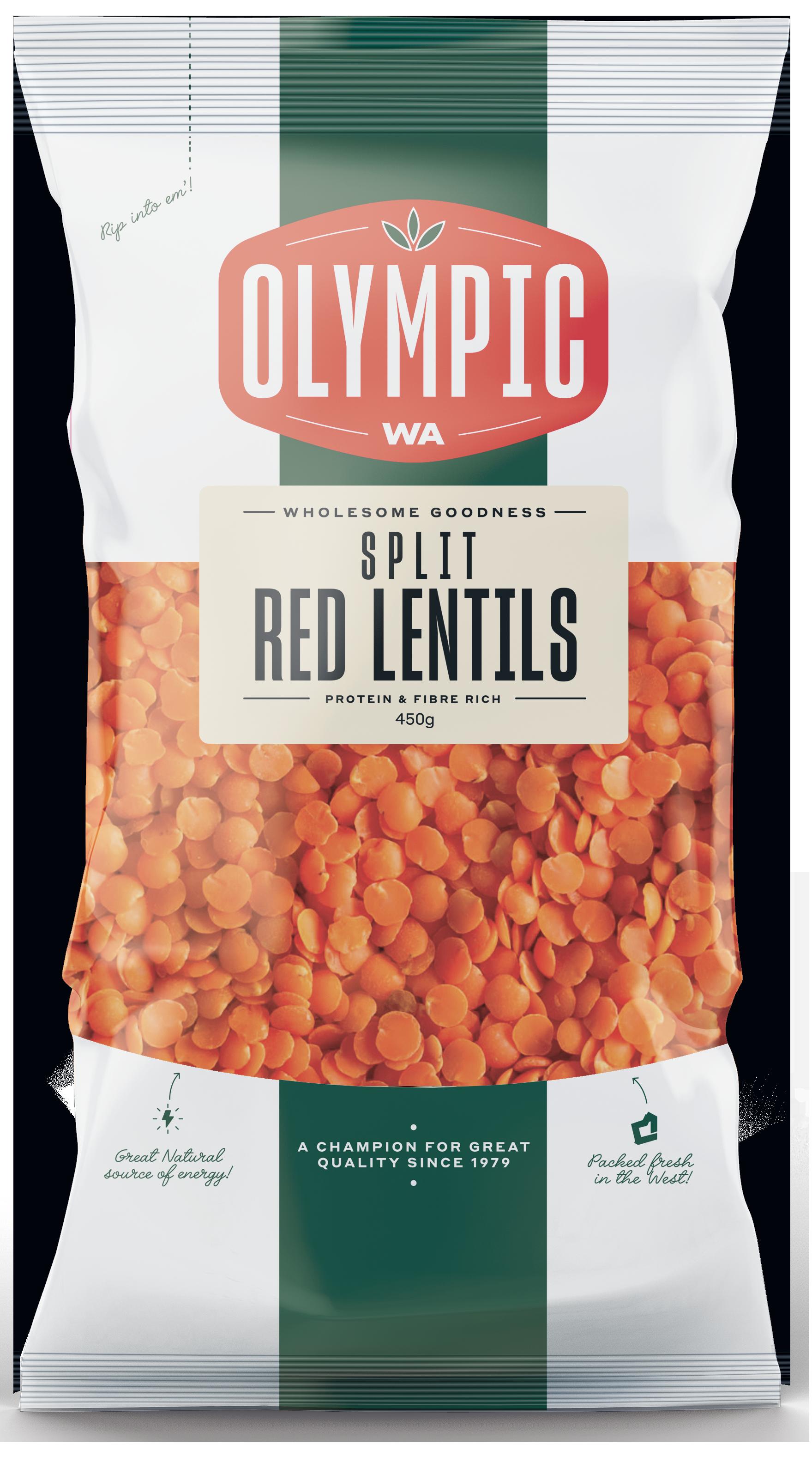 Lentils, Red Split