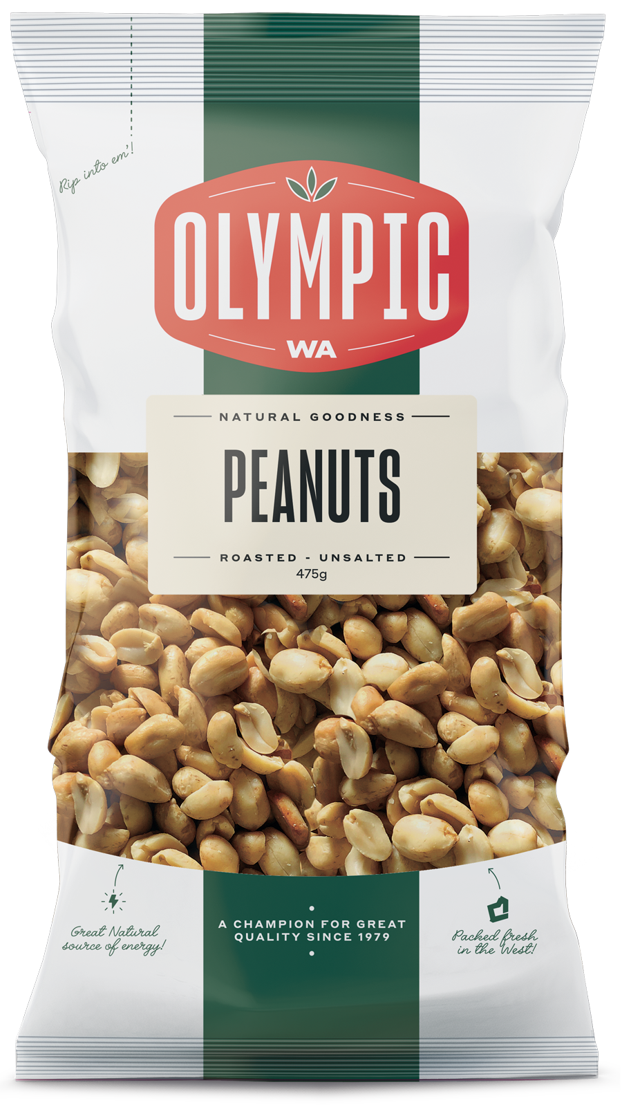 Peanuts, Roasted Unsalted
