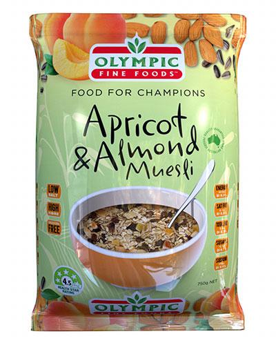 apricot and almond muesli