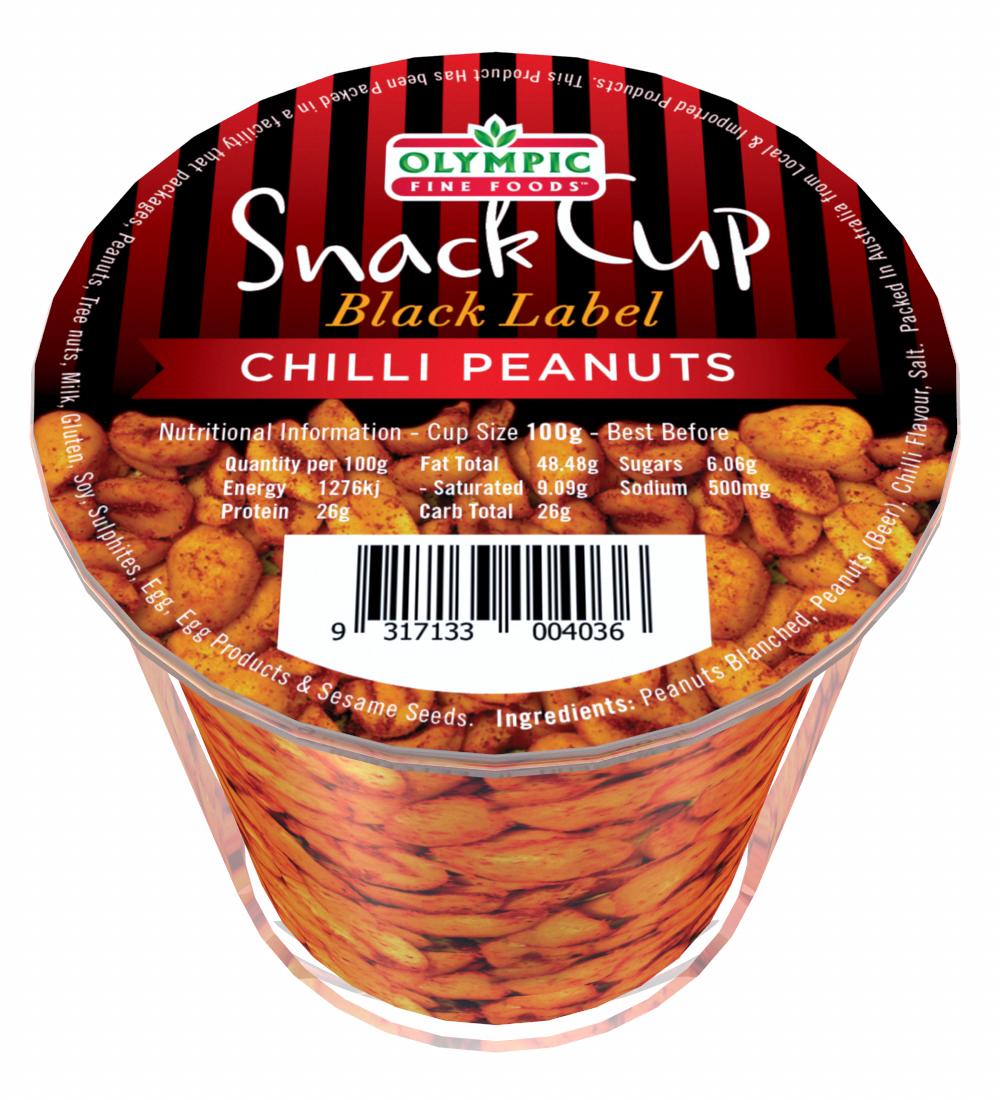 Snack Cup – Black Label Chilli Peanuts