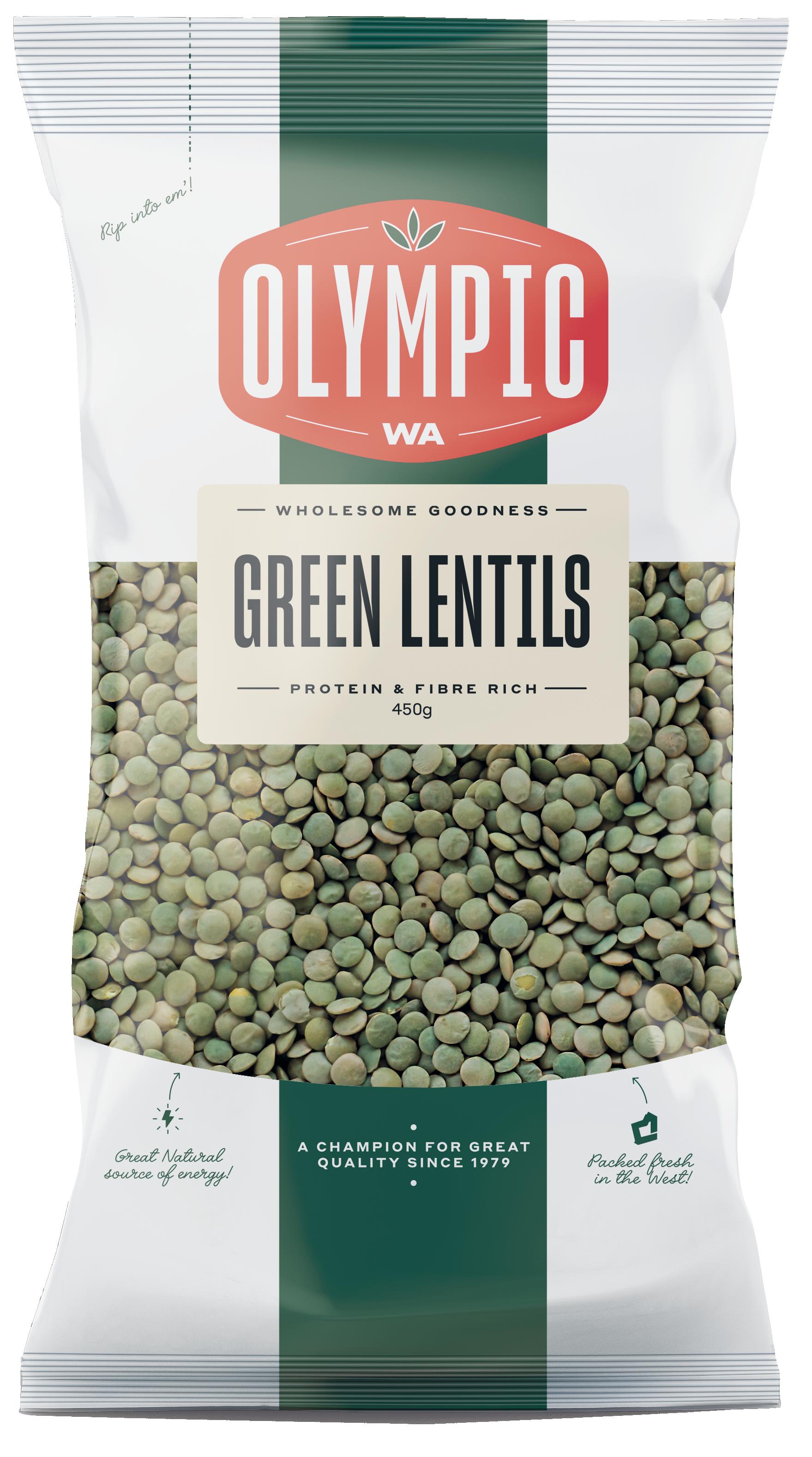 Lentils, Green